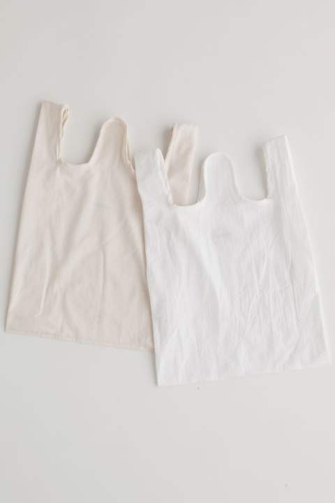 【再入荷】super BAG(OFF WHITE DENIM)