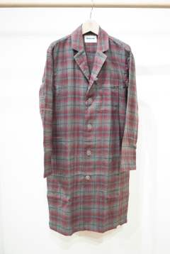 "【16AW】""day long""pajama(RED Ombre Check)【セットアップ】【ユニセックス】"
