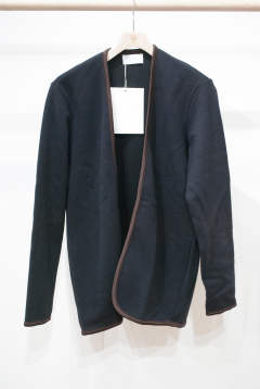 【定番人気】Piping Cardigan(NAVY)