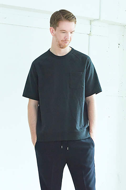 【17SS】Short Sleeve Sweat(OLD BLACK)