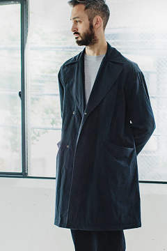 【17AW】形状記憶シンサレートコート(NAVY)