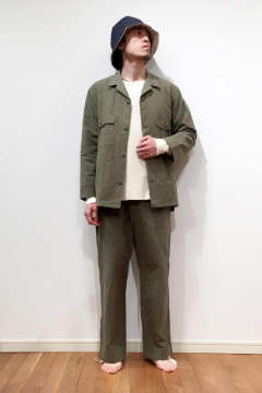 "【17AW】""military utility""pajama/パジャマ(セットアップ)"