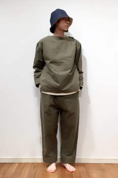 "【17AW】""military wok"" pajama/パジャマ【ユニセックス】(セットアップ)"