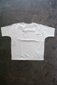 【ラスト1点】【18SS】Cotton Rib H/S Tee(WHITE)