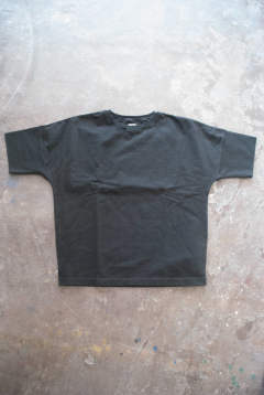 【ラスト1点】【18SS】Cotton Rib H/S Tee(BLACK)