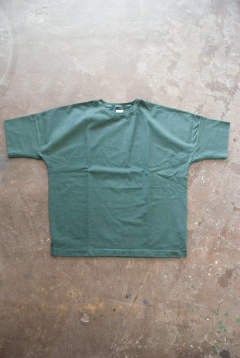 【ラスト1点】【18SS】Cotton Rib H/S Tee(GREEN)