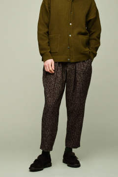 【再入荷】【ラスト1点】【18AW】Karusan Tweed Slacks(BROWN)