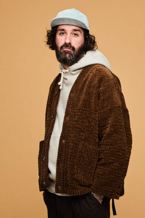 【18AW】Nitibo Hanten Cardigan(BROWN)