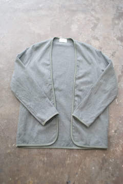 【ラスト1点】【18AW】Piping Cardigan(CHARCOAL GRAY)