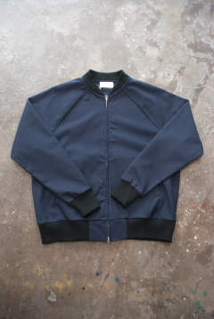 【ラスト1点】【18AW】Flight Jacket(NAVY)