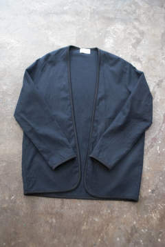 【ラスト1点】【18AW】Piping Cardigan(MAD NAVY)