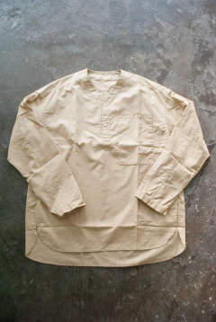 【19SS】Night Shirt P.O./ナイトシャツ(BEIGE)