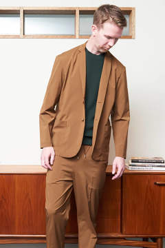 【ラスト1点】【19SS】Jacket Cardigan(BROWN)