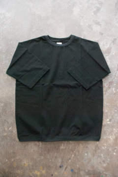 【ラスト1点】【19SS】Silket Cotton H/S Tee(BLACK)