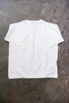 【ラスト1点】【19SS】Silket Cotton H/S Tee(WHITE)