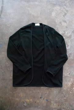 【ラスト1点】【19SS】Piping Cardigan(BLACK)