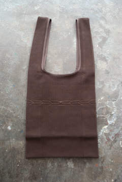 【19SS】Knit Marche Bag/ニットマルシェバッグ(BROWN)