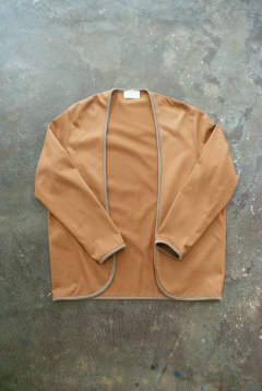 【ラスト1点】【19SS】Piping Cardigan(CAMEL)