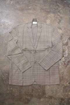 【ラスト1点】【19AW】Jacket Cardigan(BROWN×GREEN)