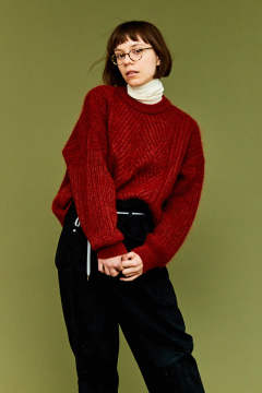 【19AW】Yukitsuri Knit(ORANGE)