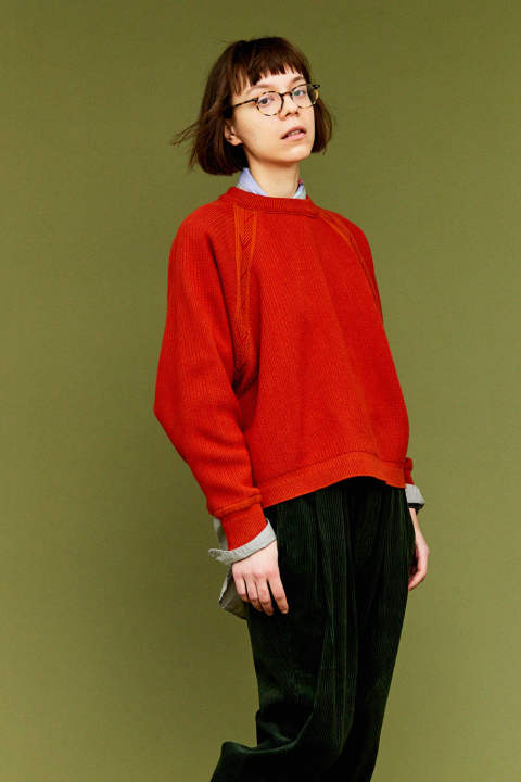 【19AW】Tasukigake Knit(ORANGE)
