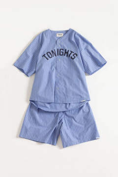 "【20SS】""nite game""pajama(LIGHT BLUE STRIPE)【ユニセックス】【セットアップ】"